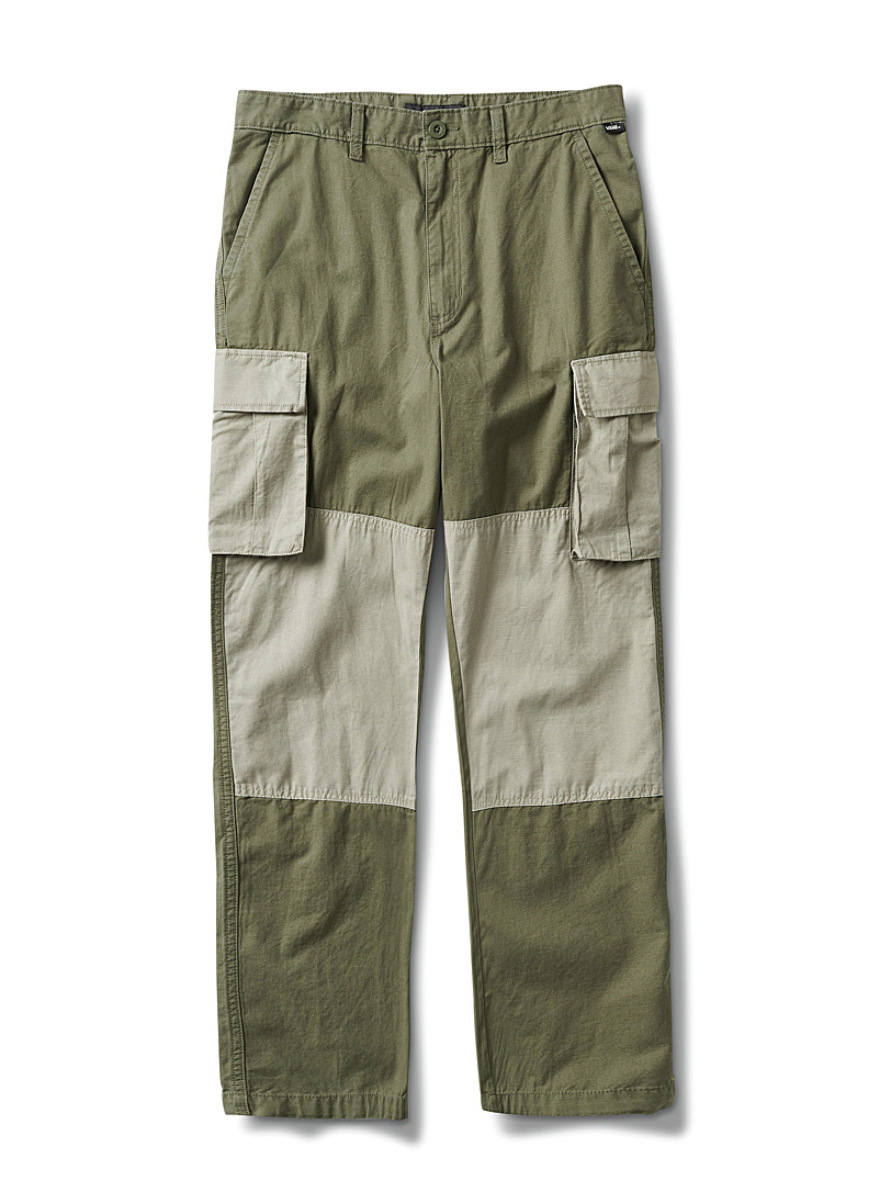 Military block cargo pant  Straight fit