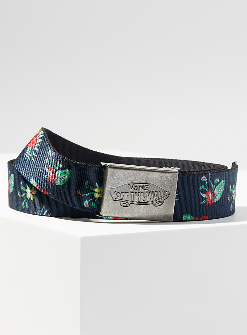 Vans Marine Blue Shredator II strap belt for men