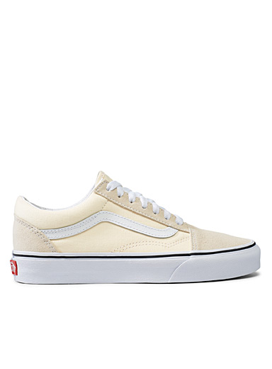 Vans Ivory White Old Skool beige sneakers  Women for women