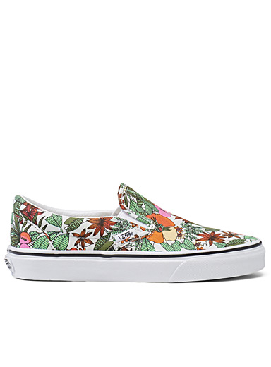 Vans Patterned White Classic Multi Tropic slip-ons  Women for women