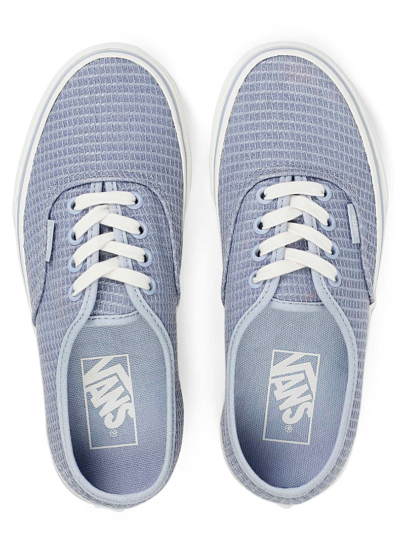 Vans Baby Blue Multi Woven Authentic sneakers for women