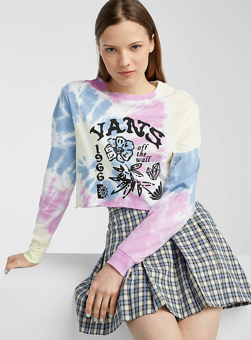 Vans Assorted 1966 tie-dye profusion tee for women