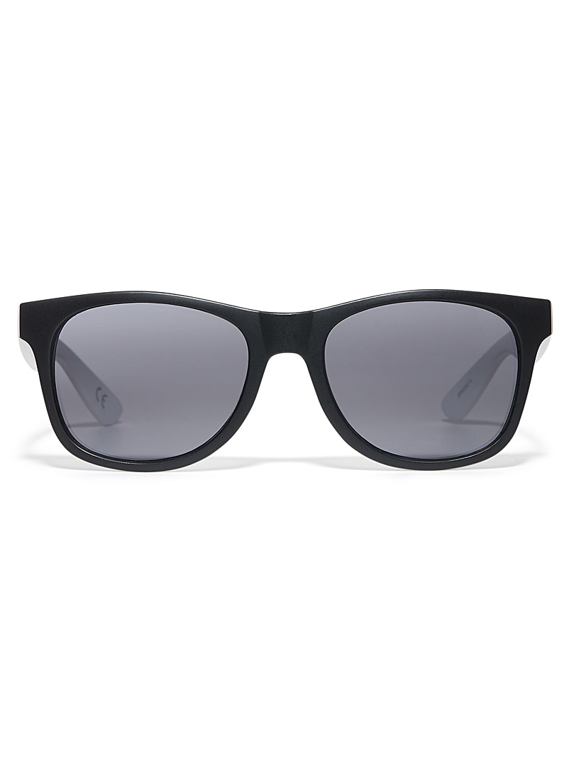Spicoli 4 sunglasses - Square - Black and White