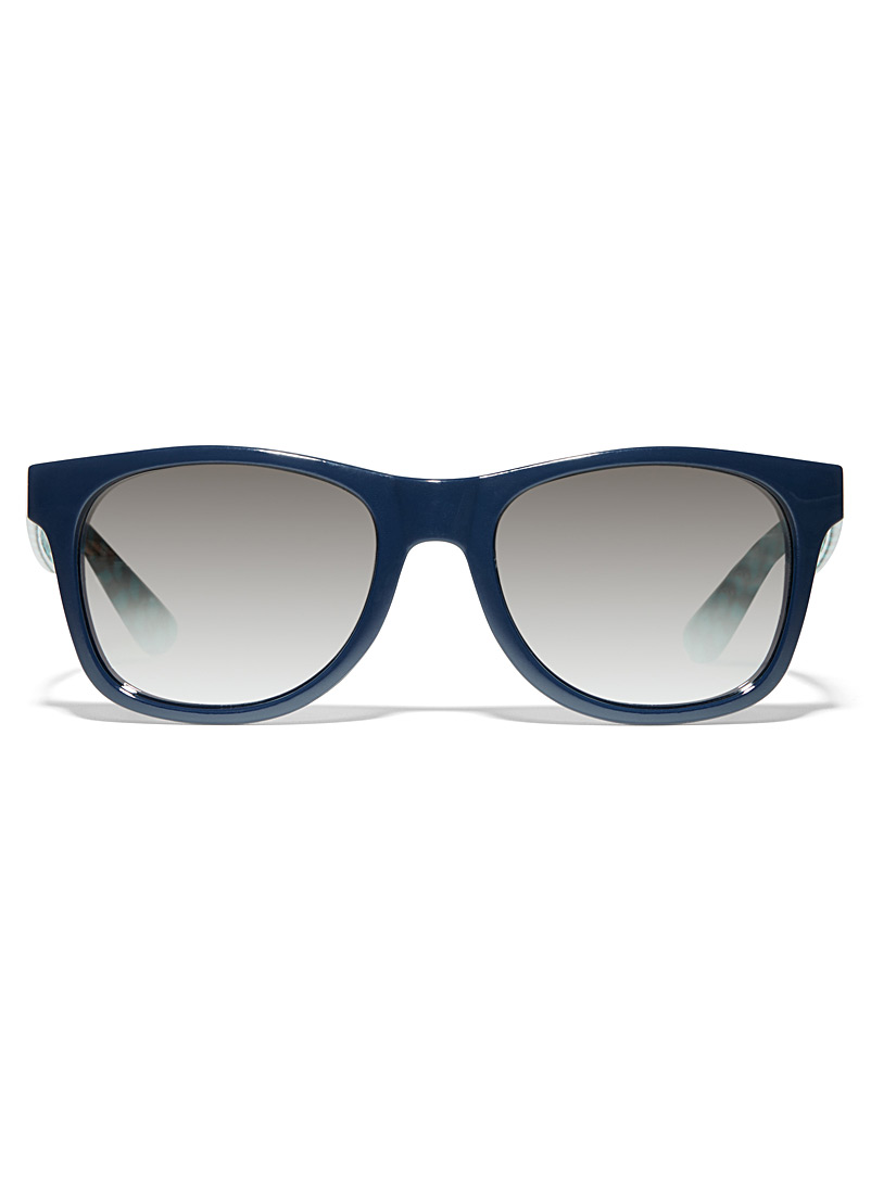 Spicoli 4 sunglasses - Square - Patterned Blue