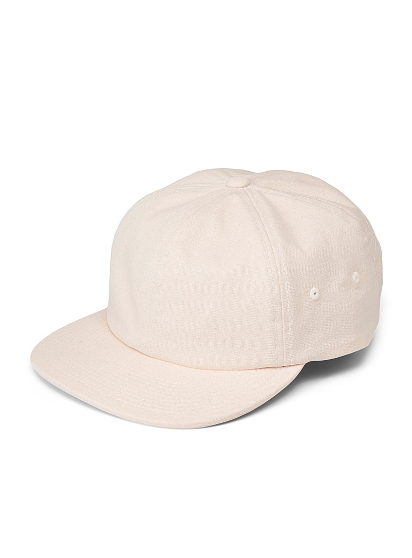 Vans Ecru/Linen Jockey beige cap for men