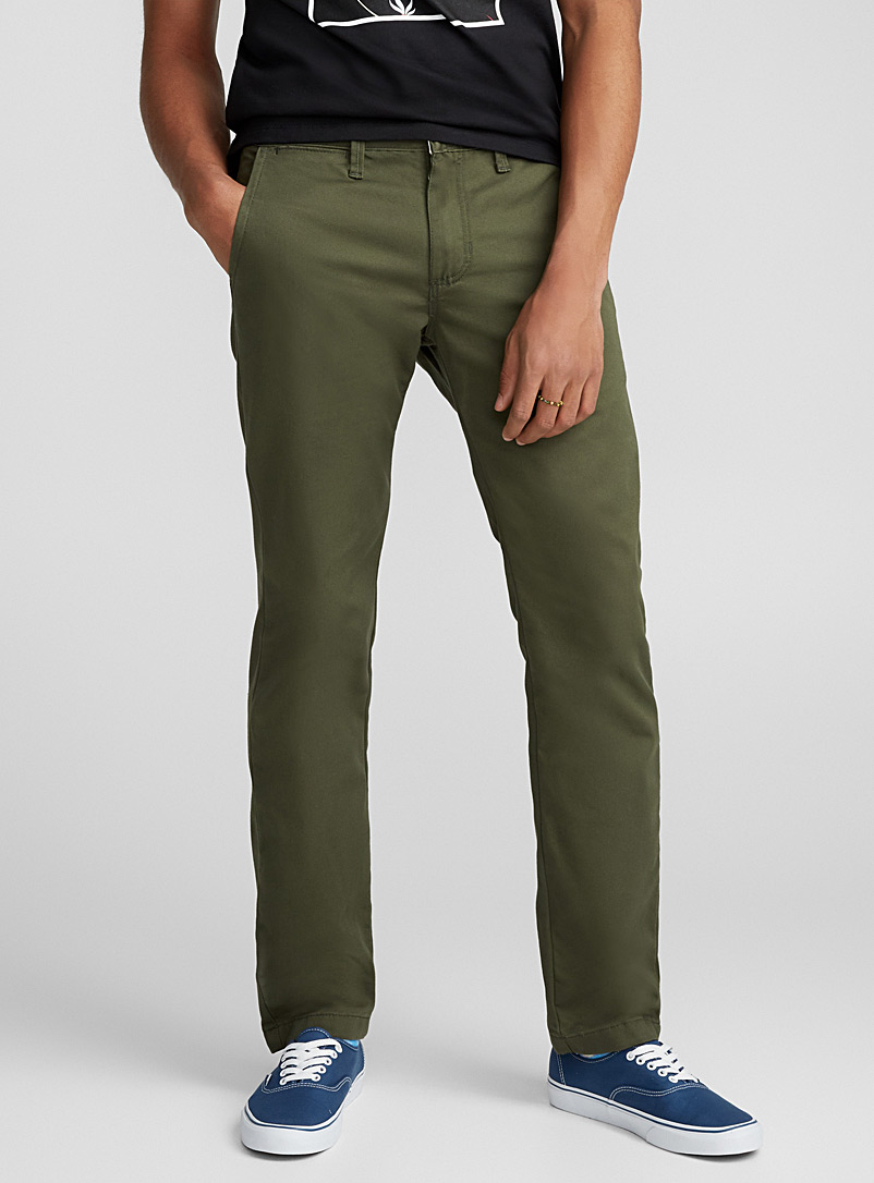 Stretch Authentic chinos - Slim fit - Khaki