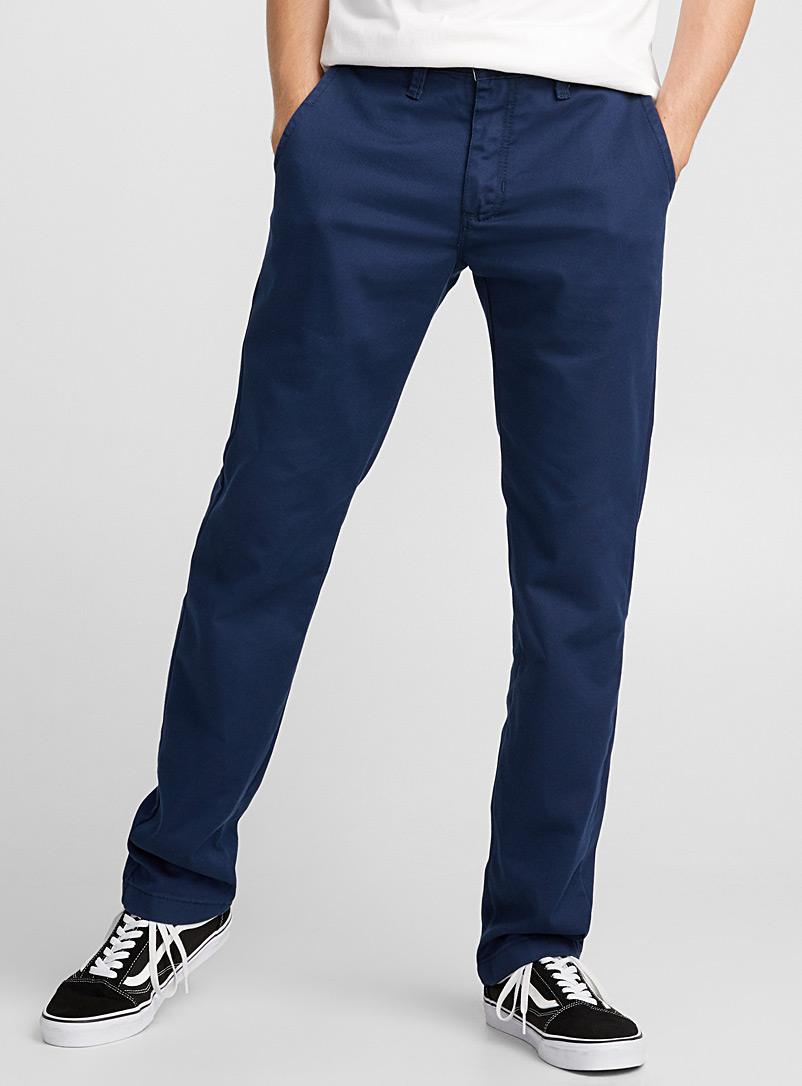 Stretch Authentic chinos - Slim fit - Marine Blue