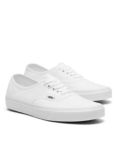 Le sneaker Authentic monochrome <br>Homme