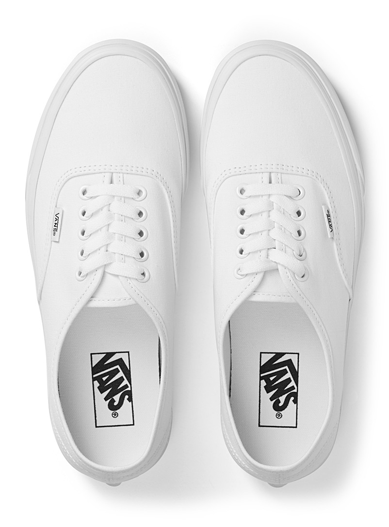 Monochrome Authentic sneakers  Men - Sneakers - White