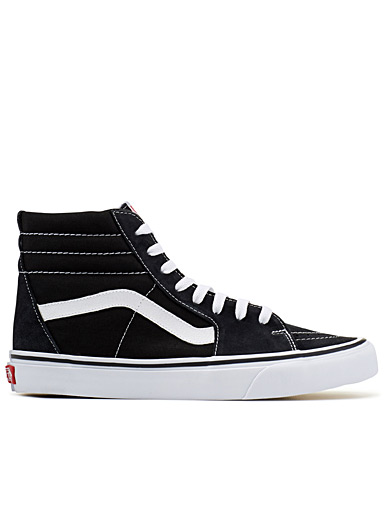 Vans Black Classic Sk8-Hi sneakers  Men for men