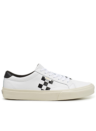 Le sneaker Checker Court <br>Homme