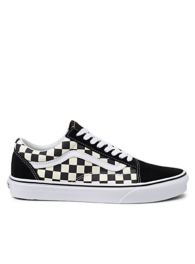 Checkerboard Old Skool sneakers <br>Men