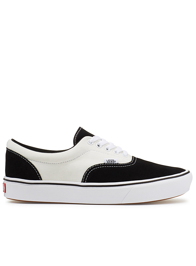 ComfyCush Canvas Era sneakers  Men - Sneakers - Black and White