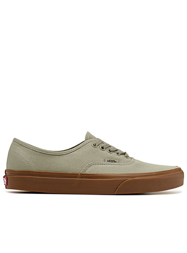 Green Gum Authentic sneakers <br>Men