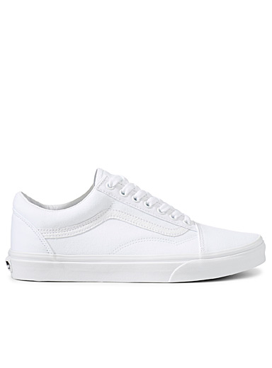 Vans White Old Skool white sneakers  Men for men