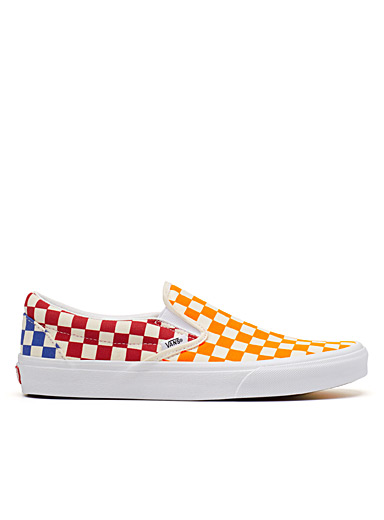 Le slip-on Checkerboard multicolore <br>Homme