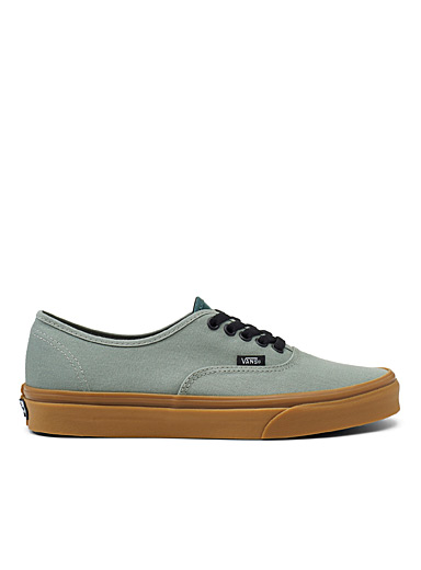 Le sneaker Gum Authentic sauge <br>Homme