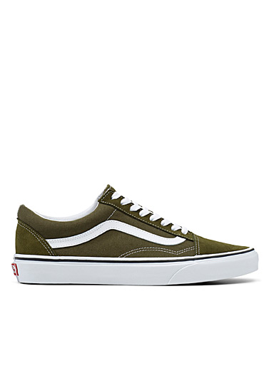 Old Skool khaki sneakers <br>Men