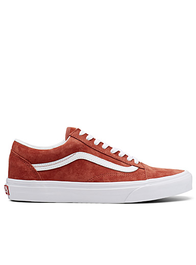 Le sneaker Old Skool rouge brique <br>Homme