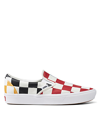 Vans: Le slip-on Checkerboard coloré  Homme Assorti pour homme