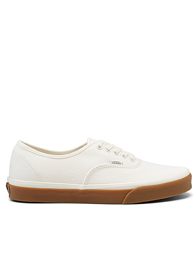 Vans Ivory White Gum sole Authentic sneakers  Men for men