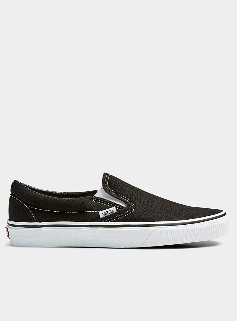 Vans Black Classic slip-ons  Men for men