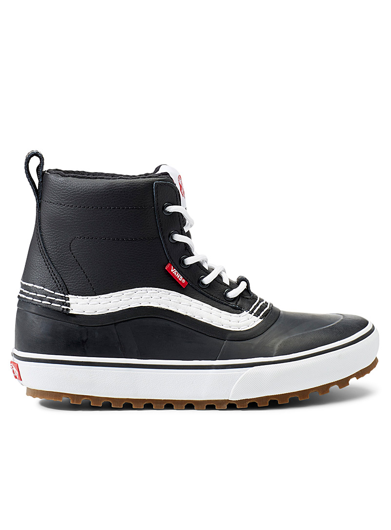 Vans Black Standard Mid MTE winter boots  Men for men