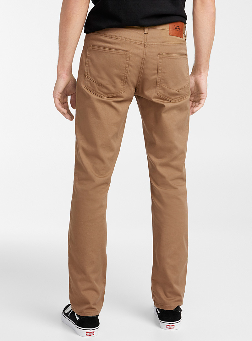 Vans Brown V56 Covina II chinos for men