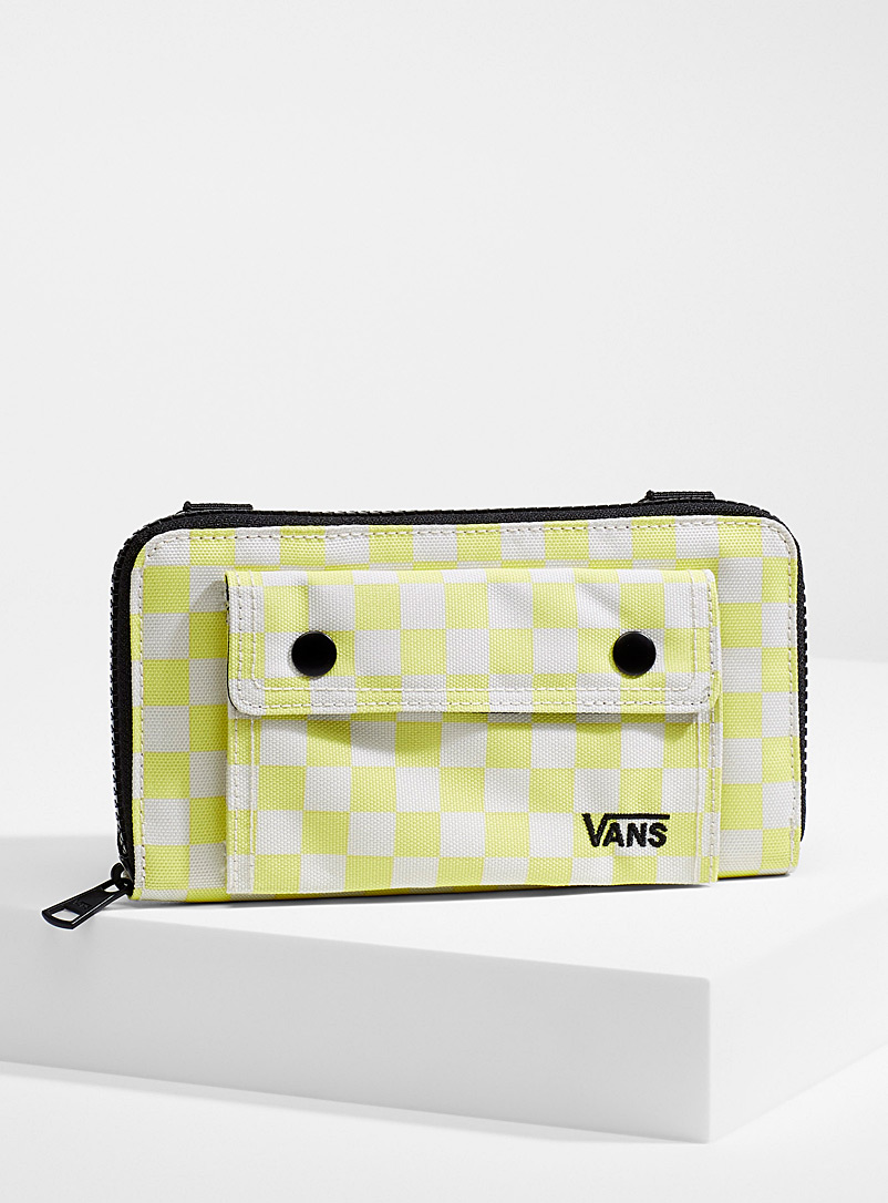 Vans Assorted yellow  Street Ready check wallet for women