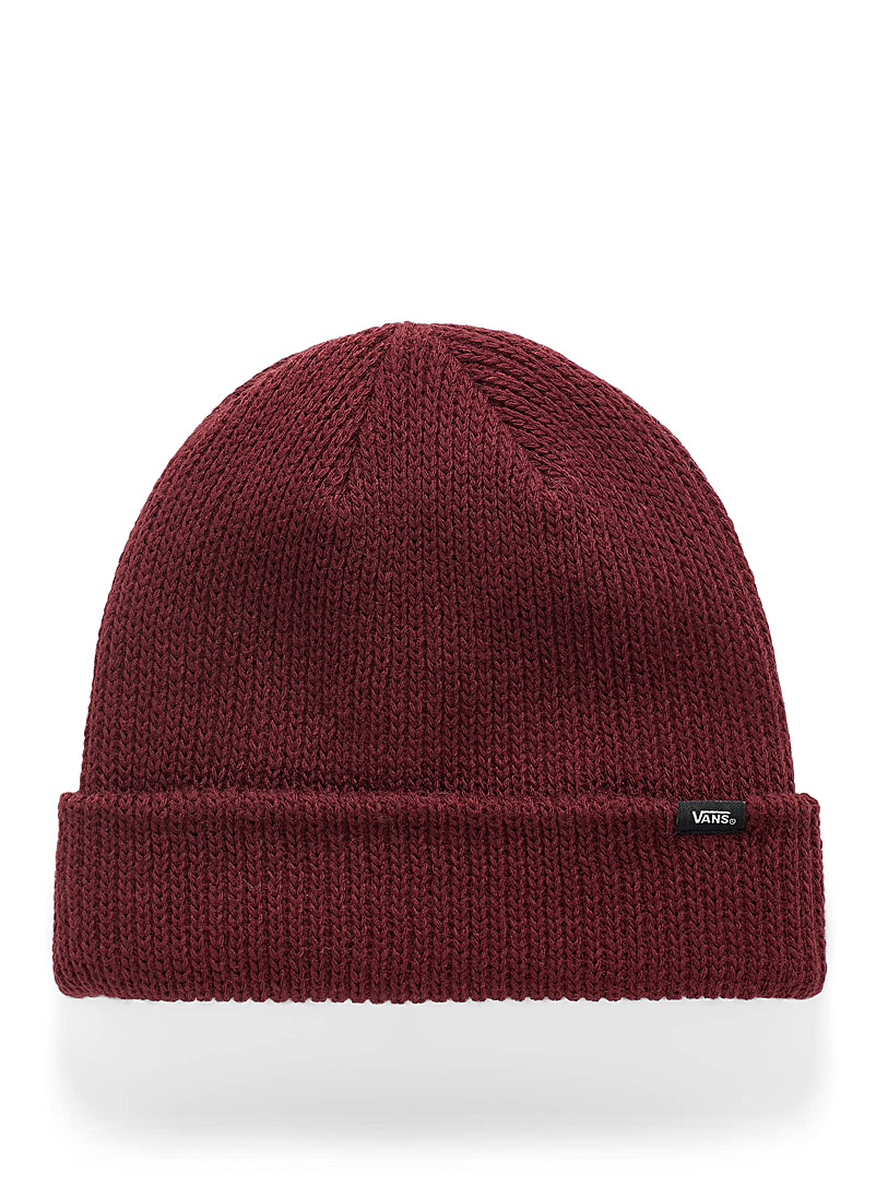 Logo ribbed cuff tuque