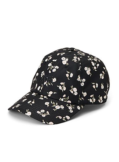 Court Side floral baseball cap