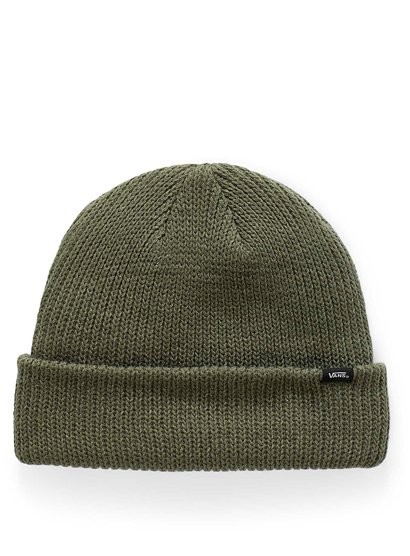 Vans Mossy Green Colourful mini-signature tuque for women