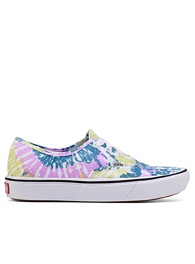 Le sneaker Authentic tie-dye acide Femme