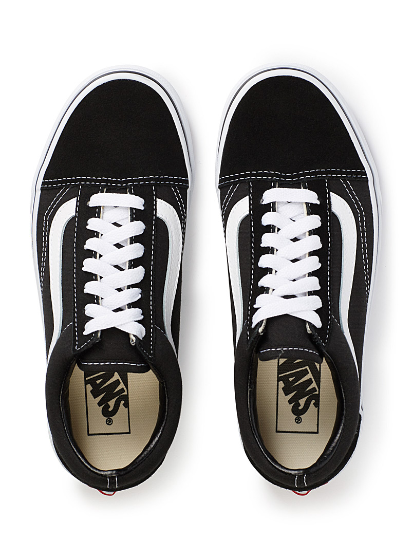 White-stripe Old Skool sneakers  Women - Sneakers - Black
