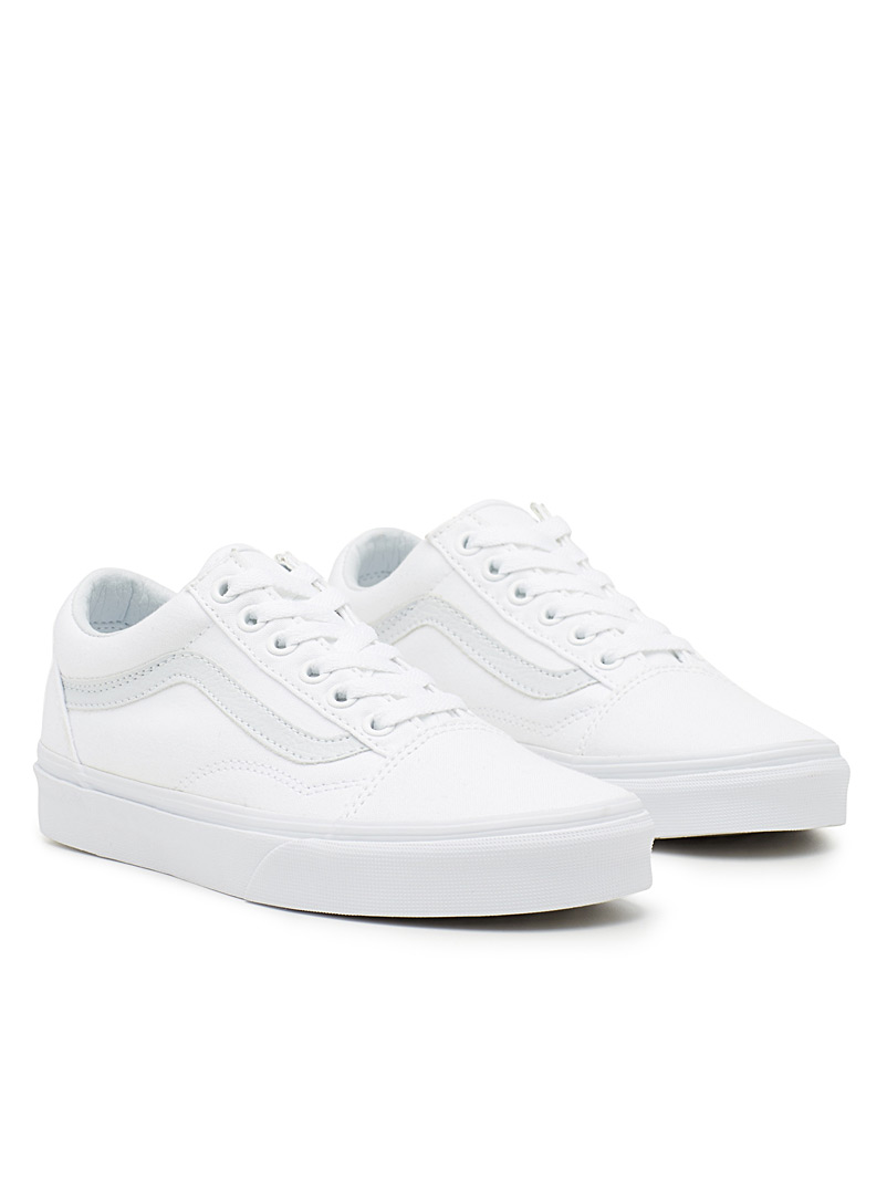 Monochrome Old Skool sneakers  Women - Sneakers - White