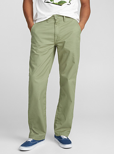 Authentic stretch chinos  Straight fit