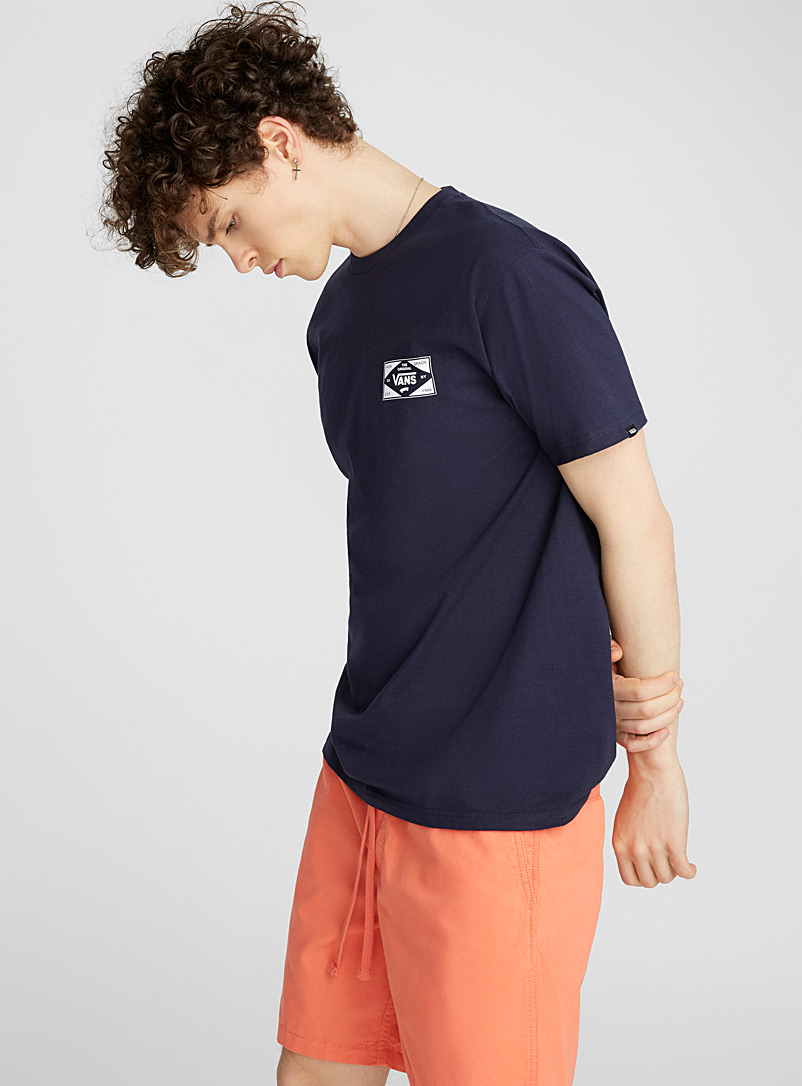 Original emblem T-shirt - Logo wear - Marine Blue
