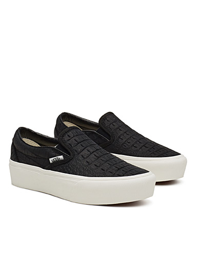 Embossed Classic slip-ons