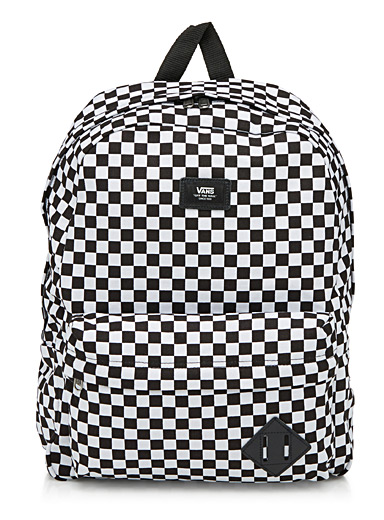 Signature check backpack
