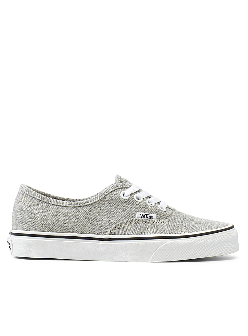 Authentic chevron sneakers - Sneakers - Light Grey