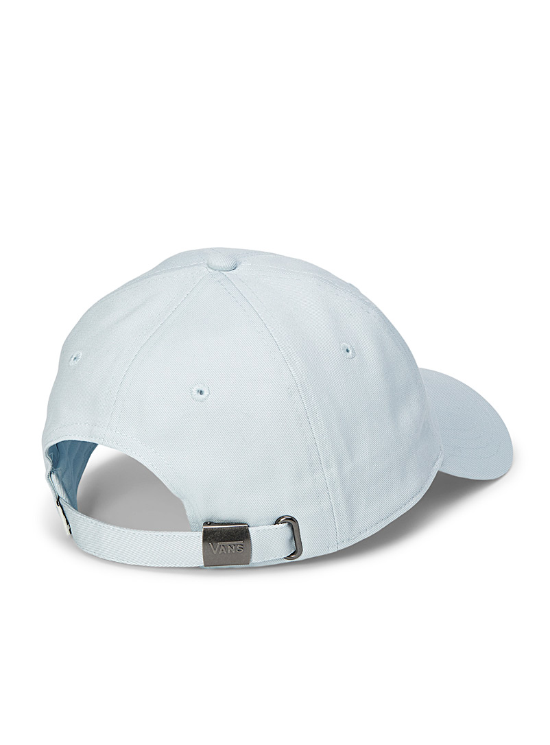 Vans Blue Check-logo cap for women