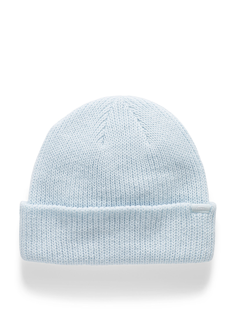 Vans Baby Blue Soft knit basic tuque for women