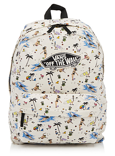 Summer print backpack