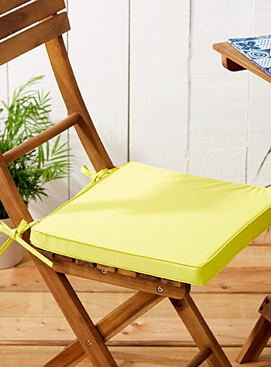 Live Outside solid chairpad <br>38 x 38 cm