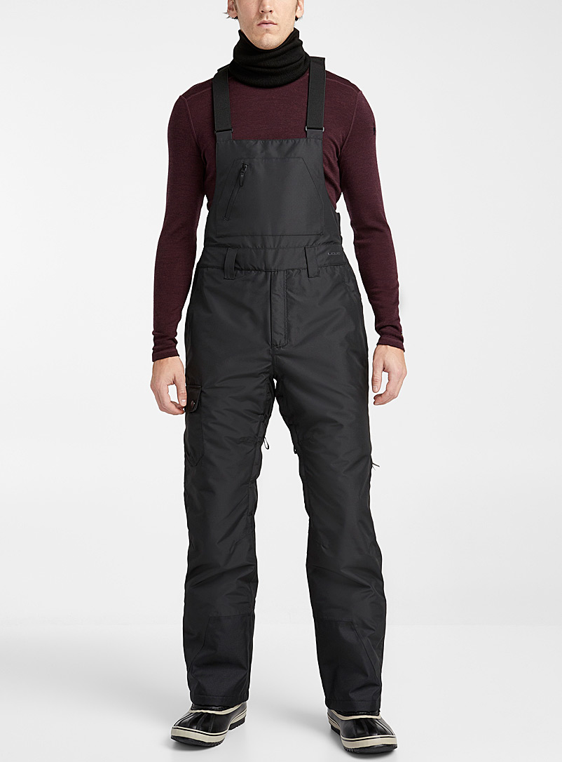 Liquid Black Copper utility insulated overalls  Regular fit for men
