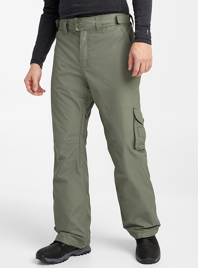 Liquid Khaki Turbo snow pant  Regular fit for men