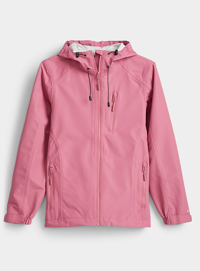 I.FIV5 Medium Crimson Waterproof jacket for women