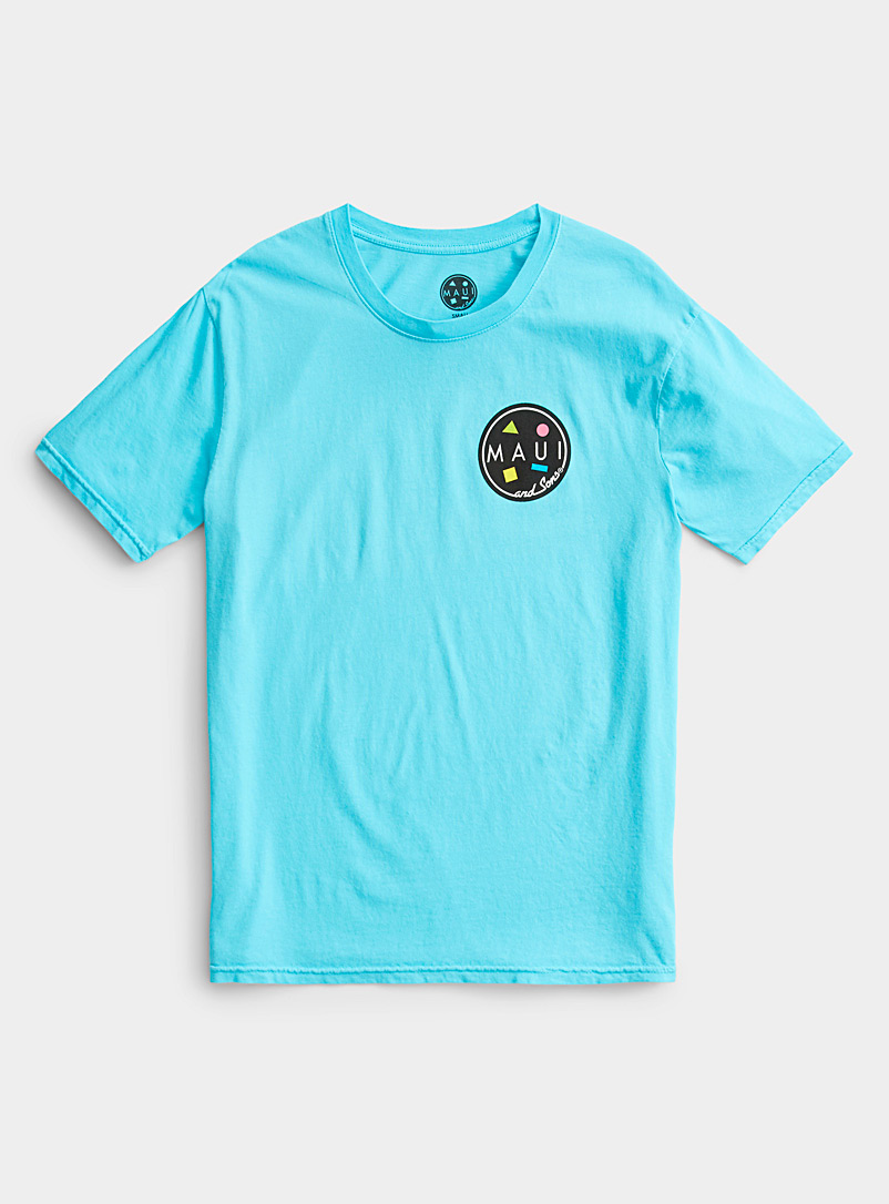 Maui and Sons Blue Surfer shark tee for women