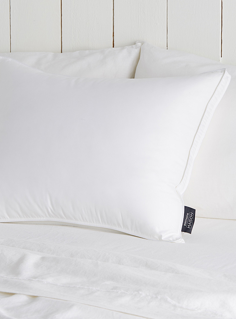 Duvetine pillow  Deluxe synthetic - Pillows & Pillow Covers - White