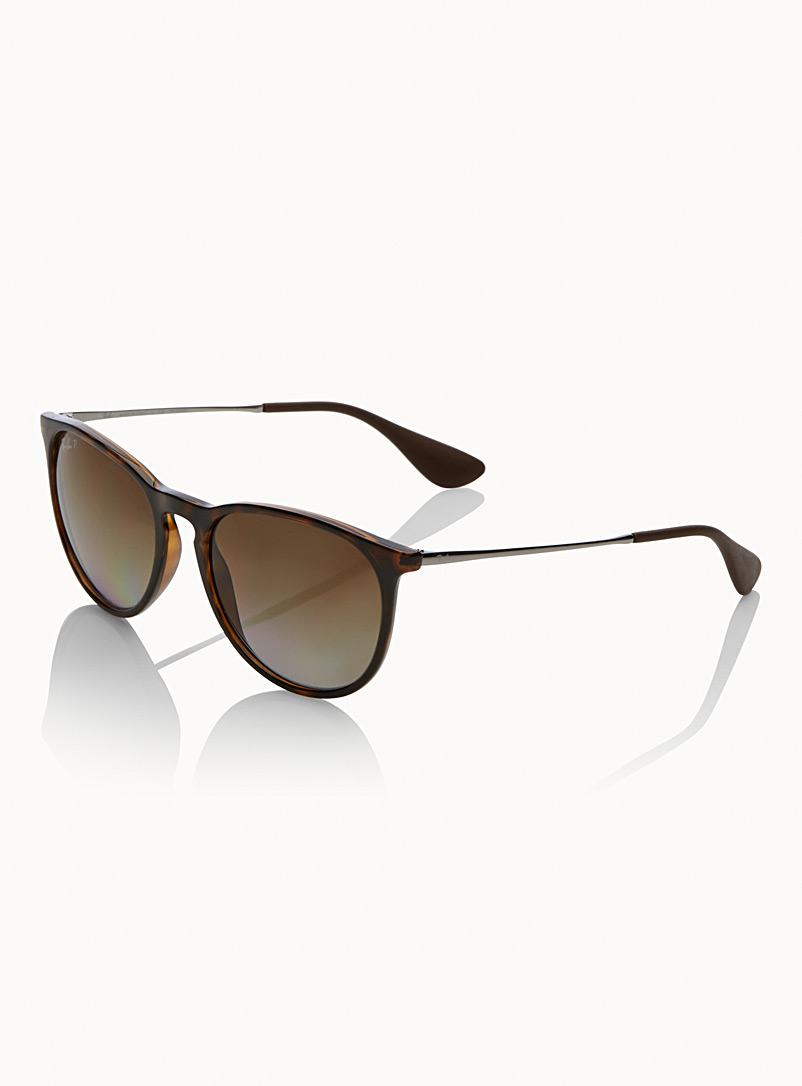 Ray-Ban Patterned Brown Erika Classic sunglasses for men